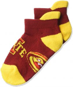 Cardinal Donegal Bay NCAA Iowa State Cyclones Youth Footie Socks 3-5 Years