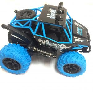 24GHz USB Charging Rock Crawler Climbing 4WD RC Car High Speed Battery 700mAh 72v Fully Assembled RTR Blue