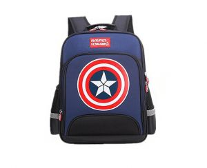 730f567552 Large Marvel American Captain s Schoolbag with Glittering light Primary School  Boys Backpack Children s Reduced Shoulder Bag Small