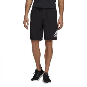 Adidas Must Haves Badge of Sport Shorts for Men Black & White