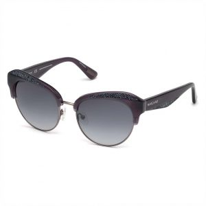 e1dbb5790a Guess by Marciano Cat Eye Sunglasses for Women - Grey Lens