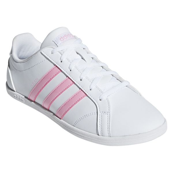 adidas VS CONEO QT Shoes for Women - White/Pink