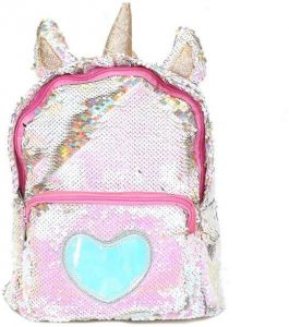 efea78eb8f42 PU Bling Toddler Sequin Unicorn Backpack for Girls Trave School Mini  Backpack for Women Sequins Critter Backpack