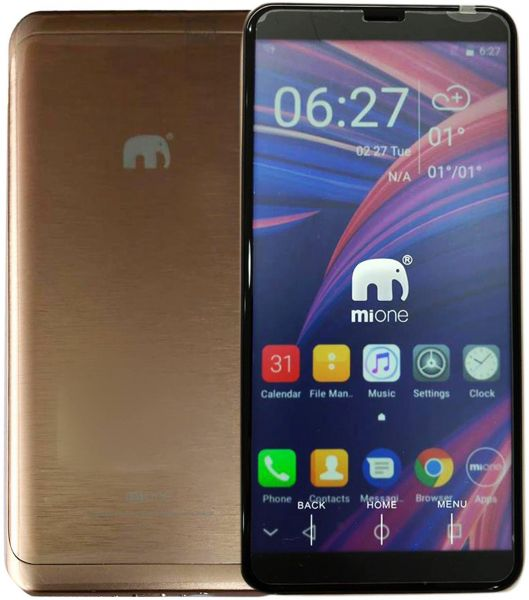 Mione Mi88 without Camera without GPS 2SIM supported - GOLD