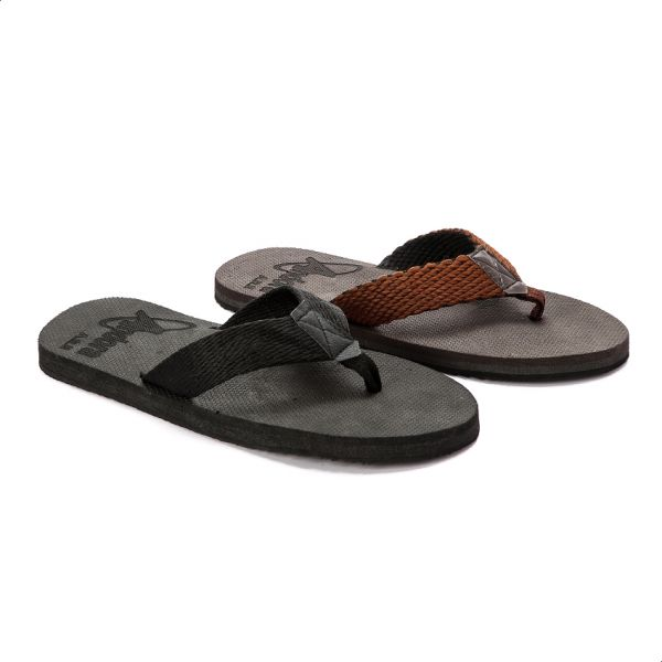 bde2682642d58 Andora Textile Flip Flop Slippers For Men