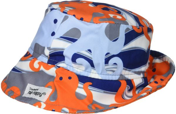 9eb3ebcf Flap Happy Baby Boys UPF 50+ Bucket Hat, Otto Octopus, Large | Souq - UAE