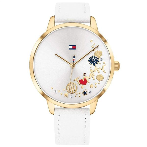 dce07bf8e Tommy Hilfiger 1781986 Leather Analog Casual Watch for Women