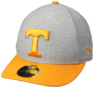 los angeles b7d17 866e4 New Era NCAA Tennessee Volunteers Adult Change Up Redux Low Profile 59FIFTY  Fitted Cap, 7 1 2, Heather Gray