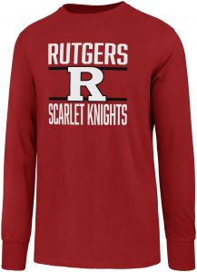 newest cae6c f6711 OTS NCAA Rutgers Scarlet Knights Men s Rival Long sleeve Tee, X-Large, Red