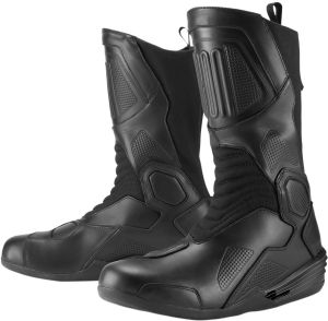 a04ca7a81bd ICON ONE THOUSAND JOKER BOOTS BLACK SIZE US 9 . UK 8.5 . EU 43 WATERPROOF  ANKLE INSERT
