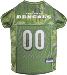 343d649cd48 Pets First NFL CINCINNATI BENGALS CAMOUFLAGE DOG JERSEY, Large. - CAMO PET  Jersey available in 5 sizes & 32 NFL TEAMS. Hunting Dog Shirt