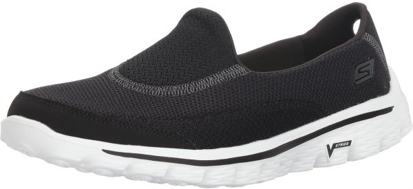 a747764bc5 Skechers Performance Women's Go Walk 2 Slip-On Walking Shoe,Black White,9 M  US. by Skechers, Athletic Shoes - Be the first to rate this product