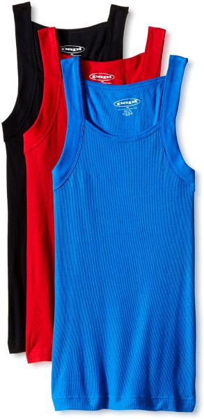 fdcdc581ae335f papi Men s Cotton Square Neck Tank Top