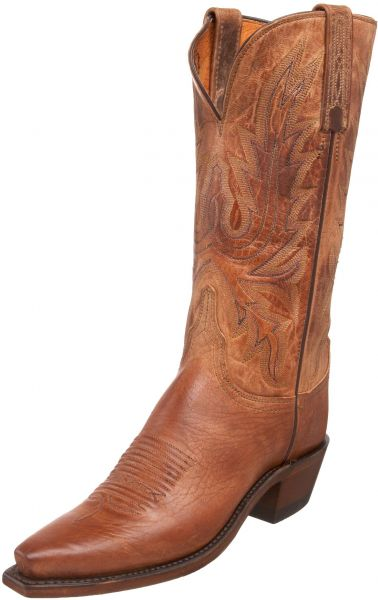 3ca47fcf722 Lucchese 1883 by Women's N4540 5/4 Western Boot,Tan Burnished,5 C(W) US
