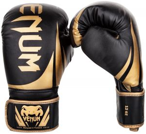 6cfbdd06c5d Venum Challenger 2.0 Boxing Gloves - Black Gold - 10-Ounce