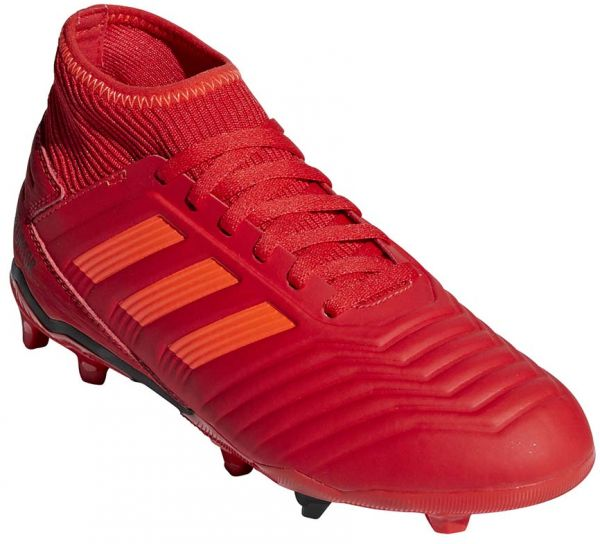 aac4fec021a adidas Predator 19.3 FG J Football Boots for Kids - Active Red Solar Red Core  Black