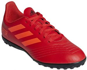 aff1b3c95 adidas Predator 19.4 TF J Football Shoes for Kids - Active Red Solar Red Core  Black