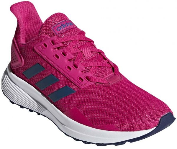 new products 7de95 22ef6 adidas Duramo 9 K Running Shoes for Kids - Real Magenta Dark Blue ...