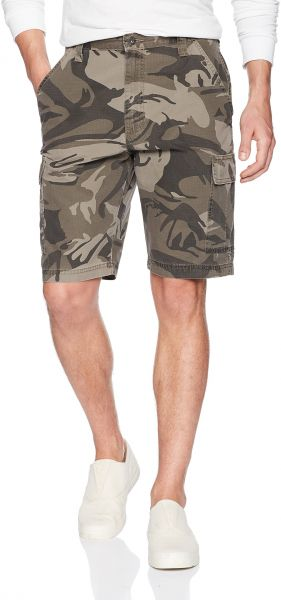 Men/'s Wrangler Camo Cargo Shorts Black /& Gray Relaxed Fit Camouflage ALL SIZES