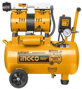 Oil Free Air Compressor >> Ingco Acs175246 Silent And Oil Free Air Compressor 0 8hp 24l