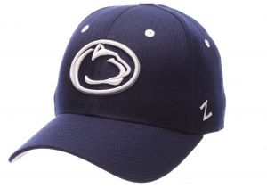 c81f9d11 Zephyr NCAA Penn State Nittany Lions Men's DH Fitted Cap, Navy, Size 7