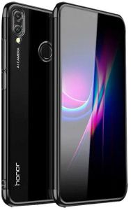 official photos 8cd19 ab4e1 Huawei Honor Note 10 Case Shock Scratch absorption Protection Ultra Thin  Flexible Rubber Soft TPU Bumper Cover (Black)