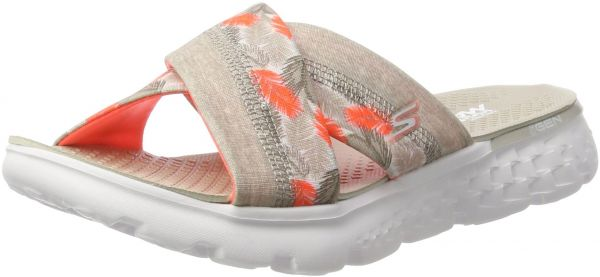 14a0e7a30bf Skechers Performance Women s On The Go 400 Tropical Flip Flop ...