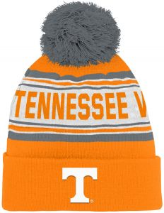 quality design 01368 c797e Outerstuff NCAA Tennessee Volunteers Kids   Youth Boys Jacquard Cuffed Knit  Hat w Pom, Light Orange, Youth One Size
