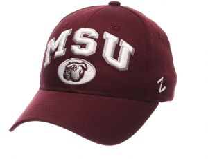 9882670bece151 Zephyr NCAA Mississippi State Bulldogs Men's The Sport Headwear,  Adjustable, Maroon