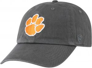 best cheap 78dd8 e695f Top of the World NCAA Clemson Tigers Men s Adjustable Relaxed Fit Charcoal  Icon Hat, Charcoal