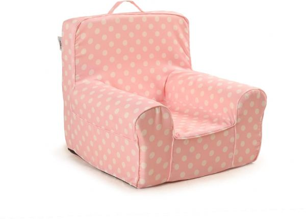 Arika Pink Lush Chair for Kids