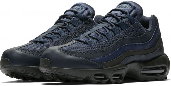 sports shoes 5ad34 eb3f8 Nike Air Max 95 Essential for Men , Navy Blue - 749766-400 Size - 41 EU