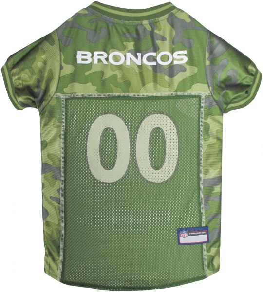 b03bfdf395c Pets First NFL DENVER BRONCOS CAMOUFLAGE DOG JERSEY, Small. - CAMO PET  Jersey available in 5 sizes & 32 NFL TEAMS. Hunting Dog Shirt | Souq - UAE