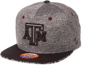 size 40 07dae 98329 Zephyr NCAA Texas A M Aggies Children Boys Prodigy Youth Snapback Hat,  Youth Adjustable, Gray Team Color