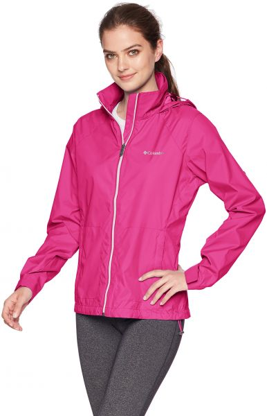 146d66883 Columbia Women's Switchback III Adjustable Waterproof Rain Jacket, Fuchsia,  X-Large | KSA | Souq