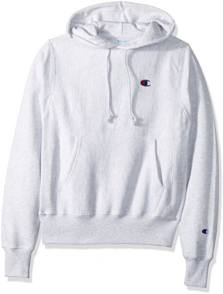 4cd13442 Champion LIFE Men's Reverse Weave Pullover Hoodie, Gfs Silver Grey ...