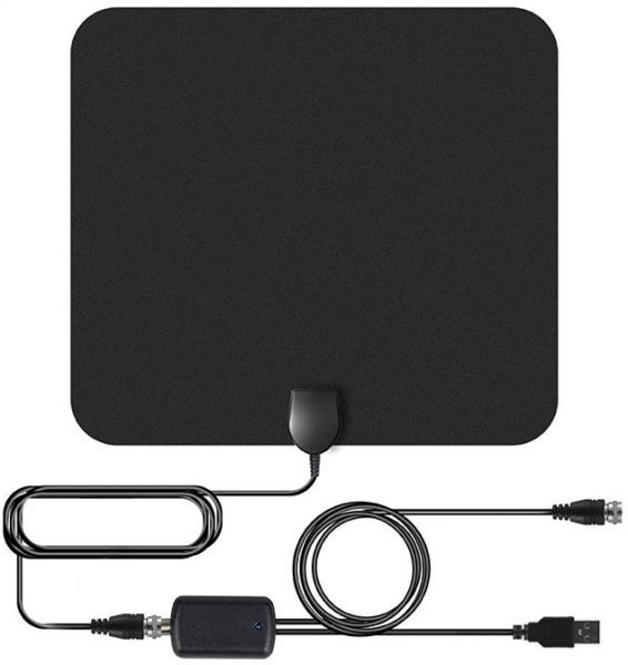 Newest 2019Amplified HD Digital TV Antenna Long 100 Miles Range Support 4K 1080p and All Older TV