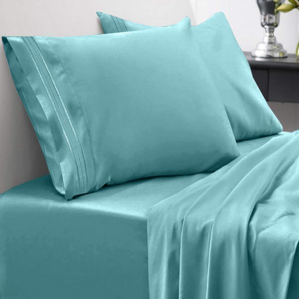 Sweet Home Collection 1800 Thread Count Bed Set Egyptian Quality