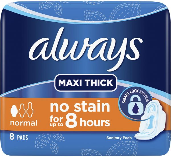 Always Maxi Thick - 8 Pads