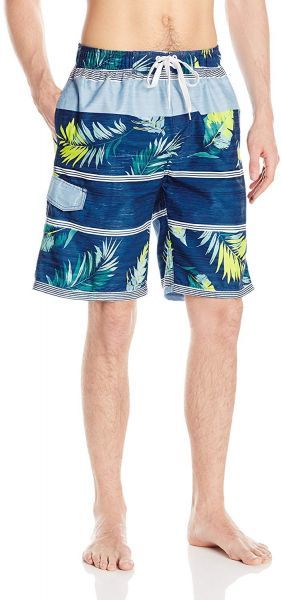 62897cd2a75 Swim Shorts & Trunks Kanu Surf Mens Condor Stripe Floral Swim Trunk Swim  Trunks