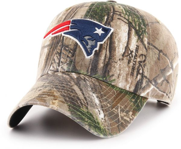 553a28420f5f42 OTS NFL New England Patriots Realtree Challenger Clean Up Adjustable Hat,  Realtree Camo, One Size | KSA | Souq