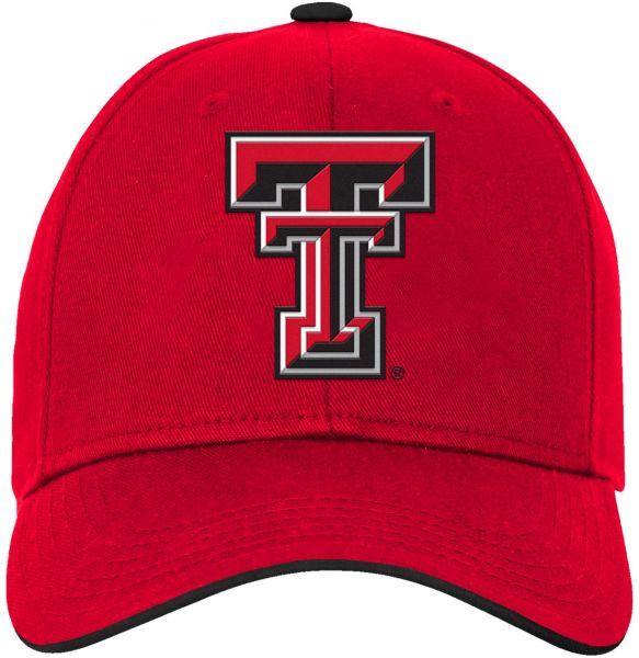 34e9ebd7 NCAA Texas Tech Red Raiders Kids & Youth Boys Basic Structured Adjustable  Hat, Red, Kids One Size