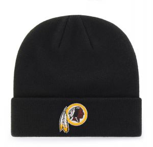 purchase cheap fd374 08ce0 OTS NFL Washington Redskins Raised Cuff Knit Cap, Black, X-Large
