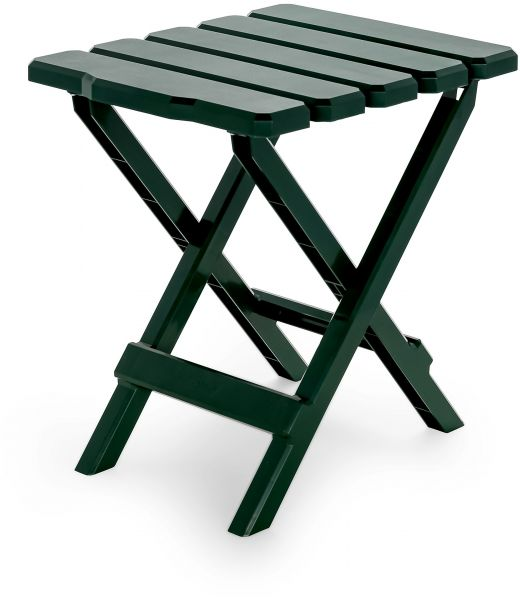 Green Regular Camco Adirondack Portable Outdoor Folding Side Table Perfect For The Beach Camping Picnics Cookouts And More Weatherproof And Rust Resistant Green 51681 Price In Saudi Arabia Souq Saudi Arabia Kanbkam