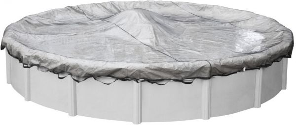 Robelle 4428 Standard Leaf Net for Round Above Ground Swimming Pool Covers,  28-ft. Round Pool