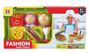 Xing Jia Toys 326h 34 Fashion Small Cutlery Set Buy Online Toys At Best Prices In Egypt Souq Com