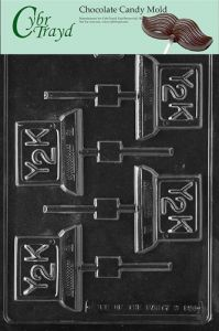 Large Desk Telephone Cybrtrayd M300AB Chocolate Candy Mold Includes 3D Chocolate Molds Instructions and 2-Mold Kit