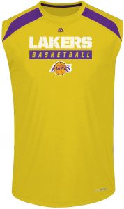 Charcoal//Heather Profile Big /& Tall Mens NBA S//S SCREEN TEE Los Angeles Lakers 2X//Tall
