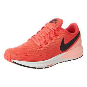 Nike W Nike Air Zoom Structure 22 Running Athletic Shoes for Women , Orange
