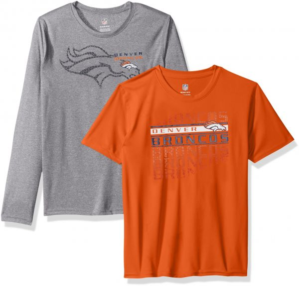 Outerstuff NFL Boys NFL Kids /& Youth Boys Interface Performance T-Shirt Combo Pack